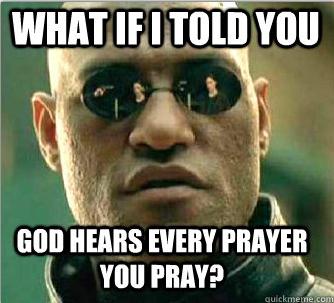 Does God Answer My Prayer?