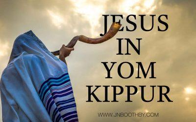 Jesus In Yom Kippur