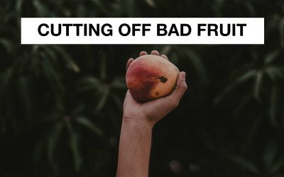 Cutting Off Bad Fruit
